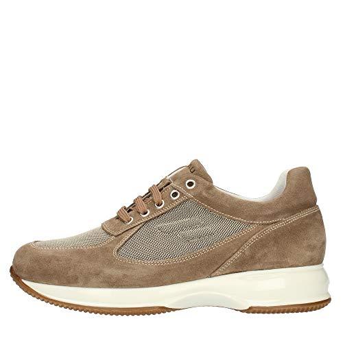 Frau 2454 Suede Tech, Modello Hogan, Sneaker Uomo, Lacci (Sughero, 43)