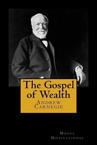 Amazon.com: The Gospel of Wealth (The Wisdom of Men Book 3) eBook:  Carnegie, Andrew: Kindle Store