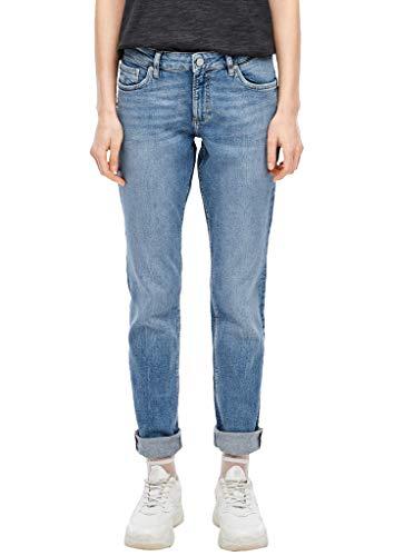 Q/S designed by - s.Oliver Damen Slim Fit: Slim leg-Jeans medium blue 42.32