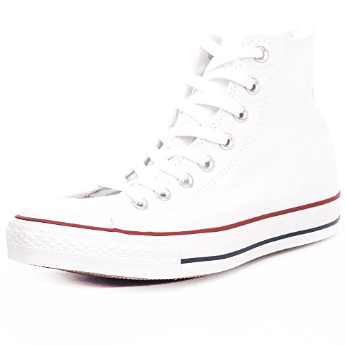 Converse Unisex-Erwachsene Chuck Taylor All Star Season Hi Sneaker, Weiß (Optical White), 45 EU