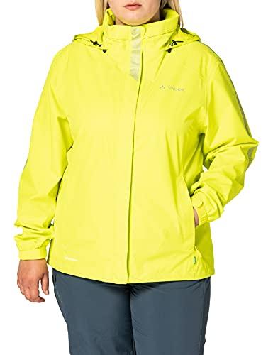 VAUDE Damen Jacke Women's Luminum Jacket II, Bright Green, 38, 42263