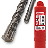 SCHWABENBACH SDS Plus - Broca para hormigón (32 x 600 mm, perforación rápida y precisa en hormigón, calidad prémium con punta de metal duro, sin enganchar en hierro de sujeción, 32 x 600 mm)