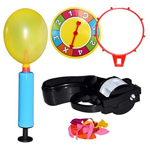Brain Game WOQOOK - Globo de ruleta rusa con bomba de juguete interactivo, multicolor