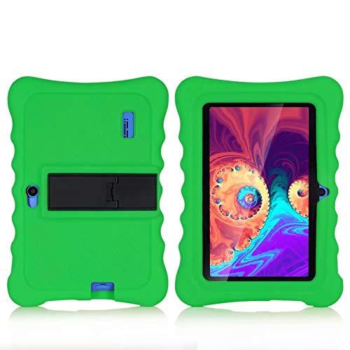 AKNICI Haehne 7'' Funda Protectora - 7 Pulgadas Tablet Funda de Silicona para Haehne 7/JEJA 7/Dragon Touch Y88Y Pro 7/LAMZIEN 7/Yuntab 7 Pulgadas Q88/JINYJIA 7/HMAI 7/Pritom 7 - Verde