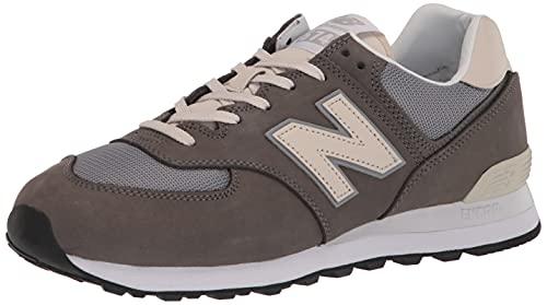 New Balance Men's 574 V2 Sneaker, Castlerock/Stee, 15