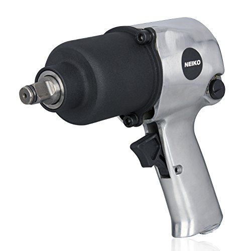 Neiko 31390A Short Shank Twin Hammer Impact Wrench, 1/2