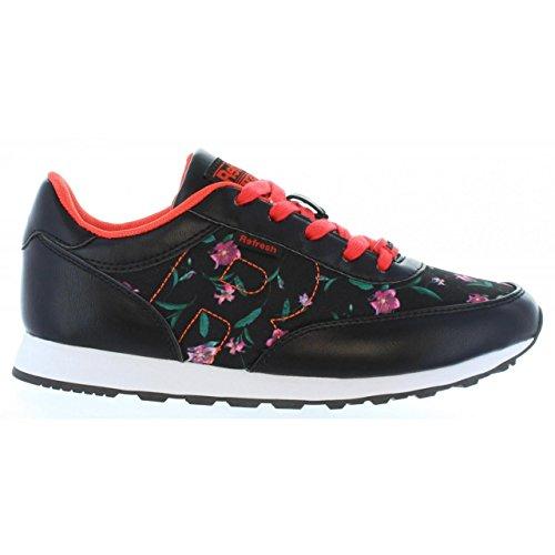 Zapatillas Deporte de Mujer REFRESH 63105 C Negro