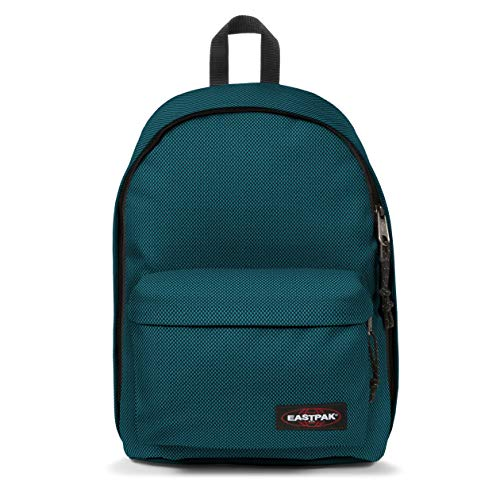Eastpak Out of Office Zaino, 44 cm, 27 L, Blu (Meshknit Blue)
