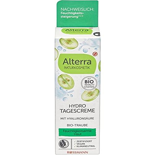 Alterra Hydro Tagescreme Bio-Traube & Bio-Weisser Tee, 50 ml