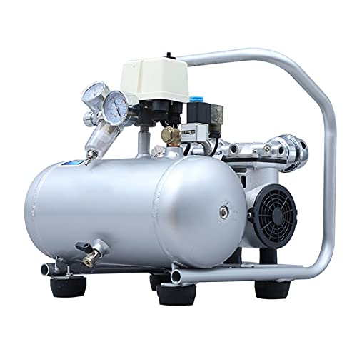 WUK Portable Air Compressor 7L Oil-Free Aluminum Can Air Compressor Silent (60dB) Small Home Air Pump 600/750/1400 W Blowing Dust Paint Spray Inflatable