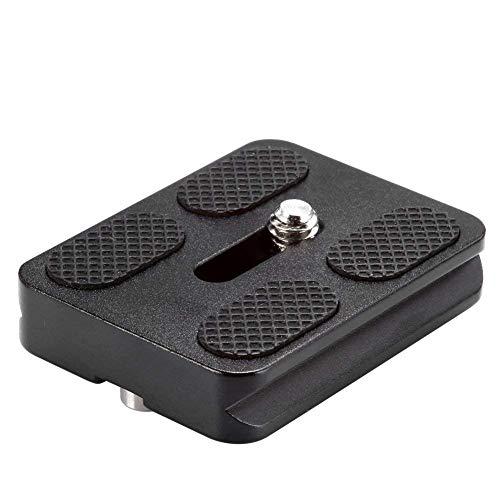 Neewer Metal PU-50 Universal-Schnellwechselplatte für Stativ-Kugelkopf schwarz