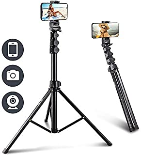 UBeesize 67'' Phone Tripod Stand & Selfie Stick Tripod, All in One Professional Cell Phone Tripod, Cellphone Tripod with B...