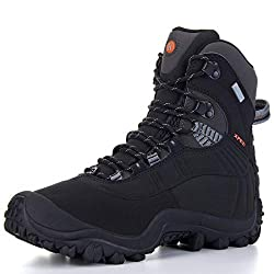 XPETI Men's Thermator Mid-Rise Waterproof Hiking Trekking Boots