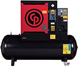 - Chicago Pneumatic Quiet Rotary Screw Air Compressor with Dryer - 15 HP, 230 Volts, 3 Phase, Model# QRS15 HPD 208/230/460V/3