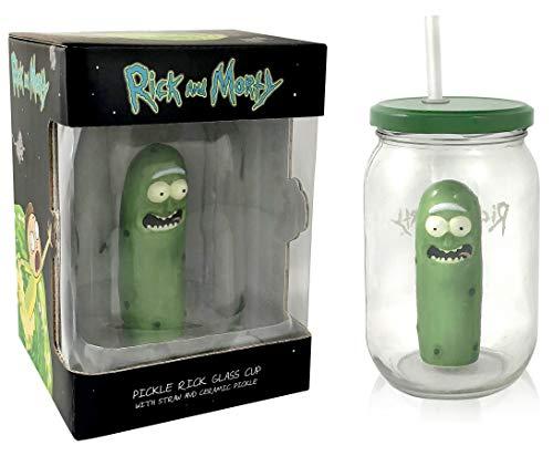 Pickle Jar Glass Mason Jar