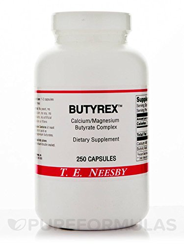 Butyrex from T.E. Neesby, 600 mg, 250 Capsules