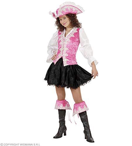 WIDMANN Disfraz de Piratesa Real Rosa