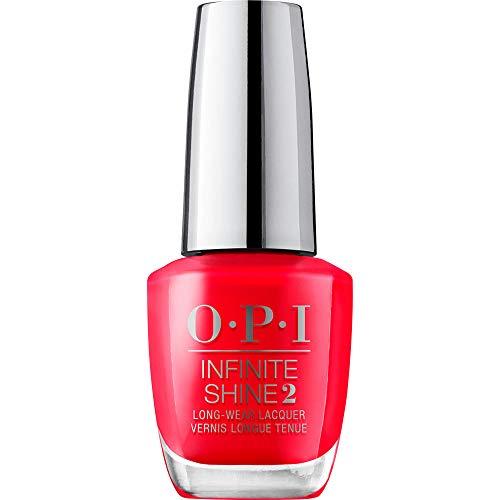 Opi Infinite Shine Red 15 ml (Isl C13), Coca-Cola Rojo, Estándar, 15