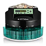 OFFNOVA Hardaway Electric Automatic Coin Sorter & Counter...