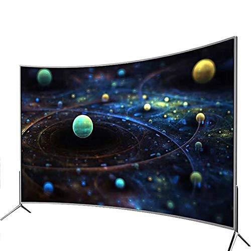Smart TV 4K, Capaz De Función De Proyección De Pantalla, Red Integrada Y WiFi, con Interfaz USB, Calidad De Imagen Ultra Clara HDR10, Protección contra Rayos