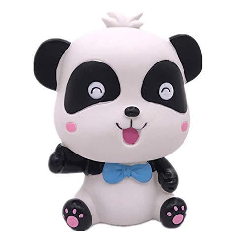 Creativo Lindo Panda De Dibujos Animados Hucha Moneda