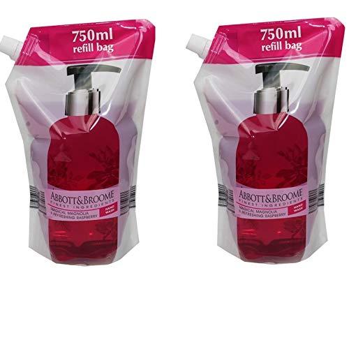 Abbott&Broome Handwash 2 x 750 ml Nachfüllpack Magnolie
