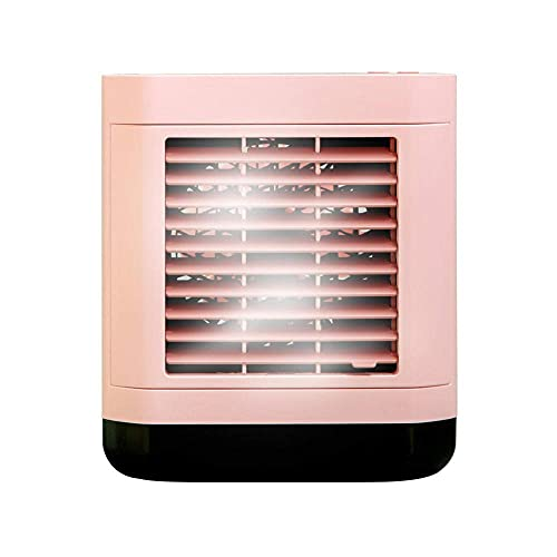 Portable Air Conditioner Fan, Personal Space Air Cooler Desk Fan Compact Evaporative Cooler, Speeds Humidifier Misting for Home Office Bedroom
