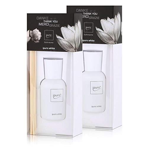 Ipuro luxus line white 50ml Raumduft (2er Pack)
