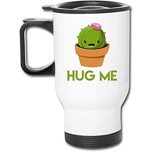 Little Yi Umarmen Sie Mich Kaktus-Edelstahl-Reise-Becher-Becher-Tee-Schalen-Kaffee-Auto-Schale