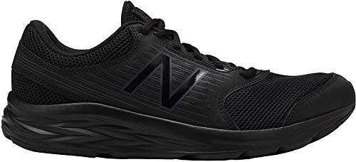 New Balance Męskie buty do biegania 411, 43, czarny - Black Triple Black - 44 EU