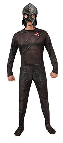 Rubie's Herren Star Trek Into Darkness Costume, Klingon Jumpsuit and Mask Kostüm für Erwachsene, Siehe Abbildung, Standard