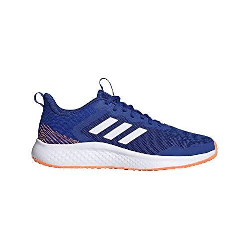 adidas FLUIDSTREET, Correr Hombre, Team Royal Blue FTWR White Screaming-Zapatillas Deportivas, Color Naranja, 44 2/3 EU
