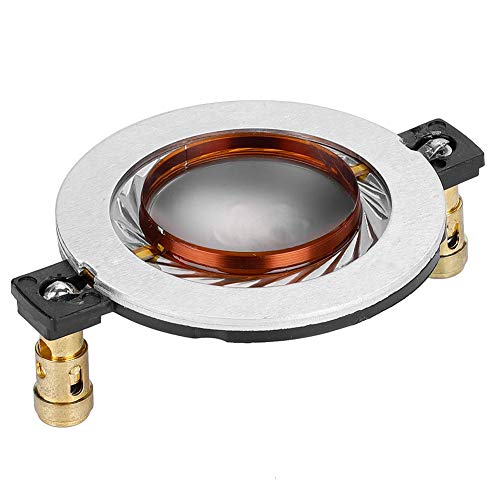 DIY 34.4mm Hochtöner Schwingspule Titan Film Flat 8Ω für Audio, für Heimkinosysteme