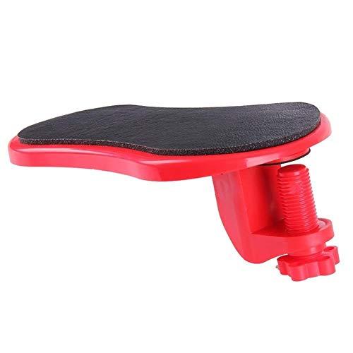 nobrand Ergonomisch Aufsteckbarer Armauflage Schreibtisch-Computer-Tisch Armauflage Mauspads Arm Handgelenk Rests Stuhl Extender-Handschulter-Protect Mousepad (Color : Red)