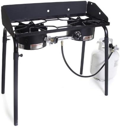 Camp Chef EX60LW Explorer 2 Burner Outdoor Camping Modular Cooking Stove