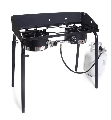 Our #3 Pick is the Camp Chef Explorer Double Burner Stove