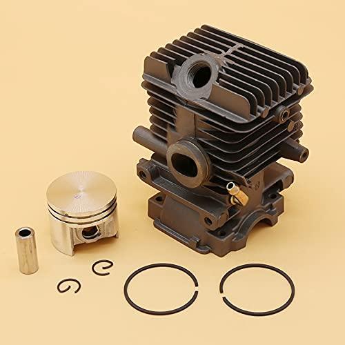 SYCEZHIJIA Conjunto de pistón de Cilindro de 37 mm Apto para Stihl MS 192 MS192 C MS192T MS192TC MS192TC-E MS192TC-E S192T-Z Repuestos de Motosierra de Gas (Size : MS192 37MM)