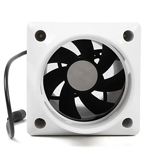 Eapmic 75mm 3Inch DC12V Inline Duct Cooling Exhaust Blower Air Cooling Vent Fan 7W