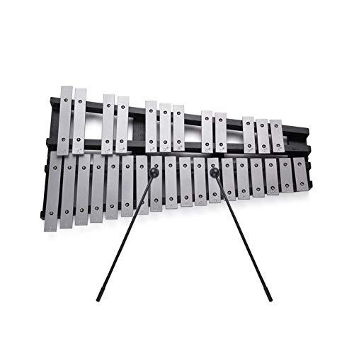 ammoon Glockenspiel plegable xilófono 30 notas...