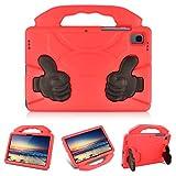 KATUMO Funda niños Compatible con Samsung Galaxy Tab S6 Lite 10.4 Pulgadas 2020 (Modelo SM-P610 /P615, Funda para Galaxy Tab S6 Lite EVA a Prueba de Golpes Carcasa Protectora Ligera,Rojo
