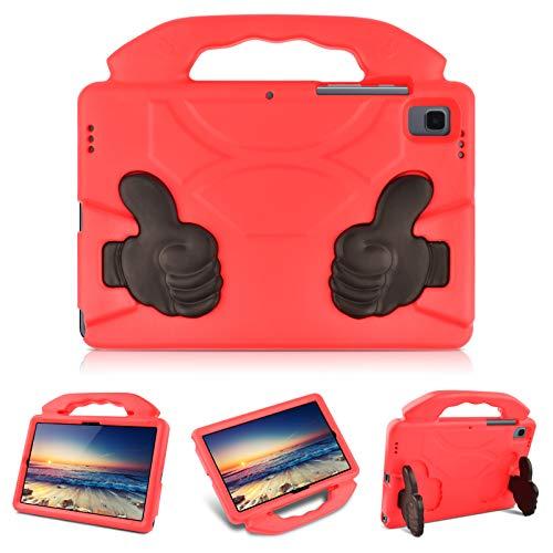 KATUMO Funda para niños para Samsung Galaxy Tab A7 10,4 Pulgadas Modelo 2020 (SM-T500 / T505 / T507), Funda Protectora Ligera de EVA a Prueba de Golpes para Tableta Galaxy Tab A7 10,4,Rojo