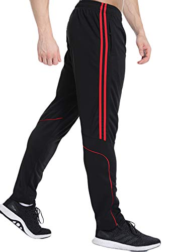 FITTOO Pantalones Deportivos para Hombre Mallas de Fitness Elásticos y Transpirables1310