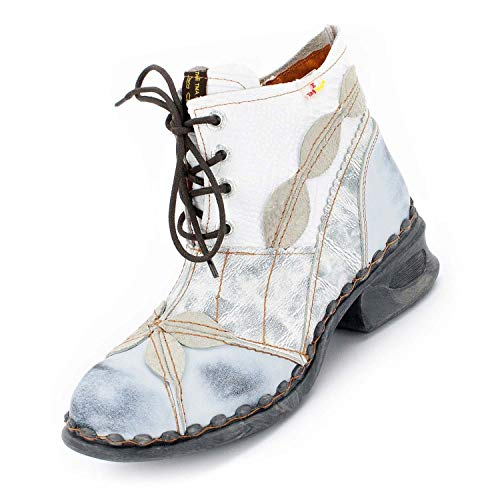 TMA Damen Boots, Silberweiß - 37