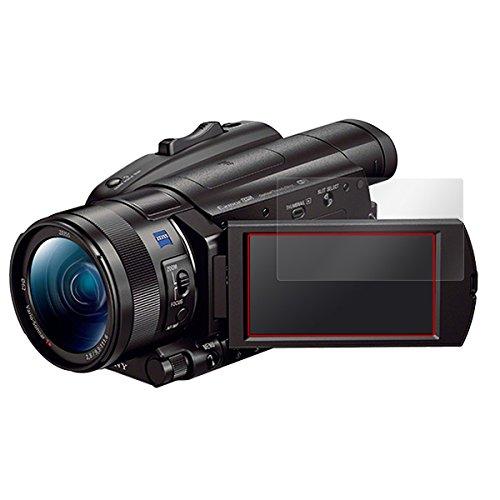 日本製 指紋が目立たない 傷修復液晶保護フィルム SONY デジタルビデオカメラ ハンディカム FDR-AX700 / FDR-AX100 用 OverLay Magic OMFDRAX700/12
