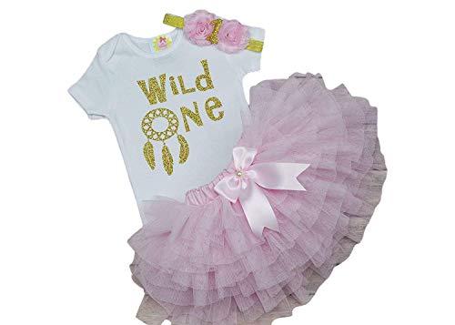 wild one birthday girl cake smash props wild one birthday girl outfit 1st birthday outfit girl wild one crown cake smash outfit girl