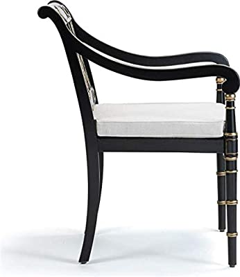 Amazon.com: Baxton Studio Madera Wishbone y silla, Metal ...