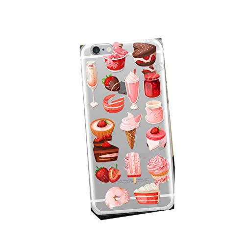 Who-Care Funny Food Dessert Chocolate Beer Phone Case For Iphone 11 Pro Xr 6 6S 7 8 Plus 4S 5S Se Xs Max Cookies Fries Tpu Silicone Case-Tpu A339-For Iphone 6S 6 Plus