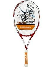 Raquetas De Tenis Para Principiantes Hombres Y Mujeres Raqueta Todo En Uno Set De Entrenamiento De Tenis (Color : Red, Size : 27in)