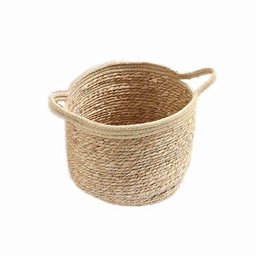 PTVwire Rieten mand kleding speelgoed afwerking stro opslag mand handgemaakte stro rotan weven