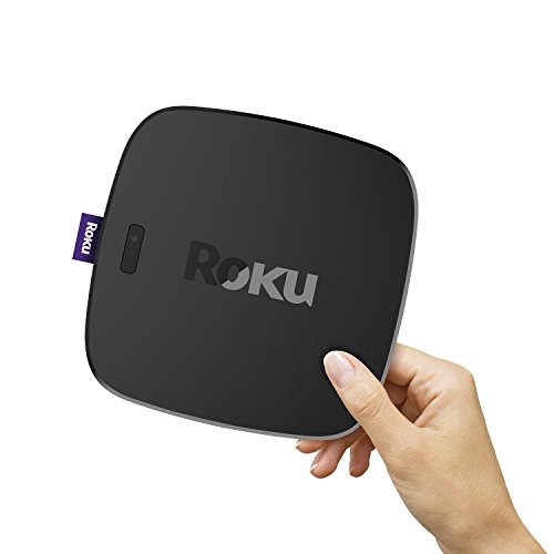 Roku Ultra | 4K/HDR/HD Streaming Player with Enhanced Remote (Voice, Remote Finder, Headphone Jack, TV Power and Volume), Ethernet, MicroSD and USB (2017)